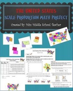 Scale Drawing Project of the United States  A Collaborativ