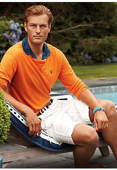 Polo Ralph Lauren Long Sleeve Mesh Crewneck Pullover #belk #fashion