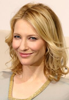 Cate Blanchett - Talented, strong, passionate. Perfect role model for young women.
