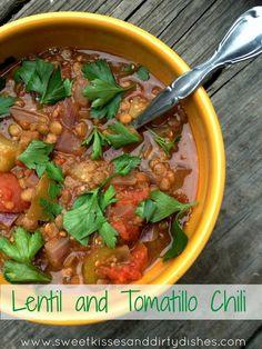 Lentil and Tomatillo Chili