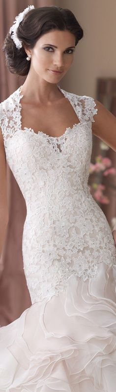 David Tutera ~ Crawley Wedding Dresses 2014