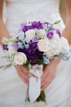 Something blue with heirloom rosary beads for something old. Florals-Holland Daze Weddings Katie Bryant Photography