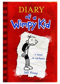 books related to diary of a wimpy kid