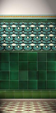 Image result for craftsman bathroom tile