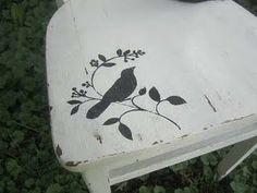 lovely bird silhouette - looks like @Stephanie Hellgren Tabellion