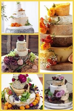 CHEESE instead of a wedding cake!!! nom nom nom get away mine mine.