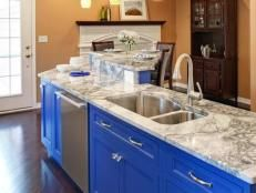 Spray Painting Kitchen Cabinets: Pictures & Ideas From HGTV | Kitchen Ideas & Design with Cabinets, Islands, Backsplashes | HGTV