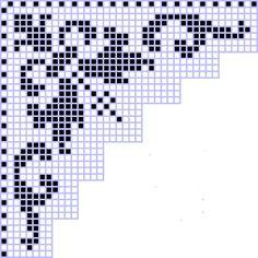 Loom Patterns, Cross Stitch Patterns, Crochet Patterns, Filet Crochet Charts, Crochet Borders, Family Ornament, Fillet Crochet, Crochet Summer Tops, Monochrome Pattern