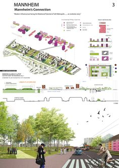Bustler: Mannheim's Connection by KH studio - 1st-prize entry for E12 Europe, Mannheim