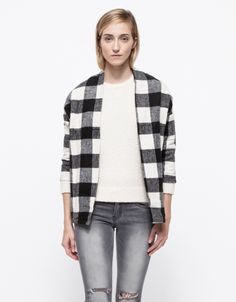 Astrid Jacket | Plaid | Need Supply \ Such a great way to wear plaid.