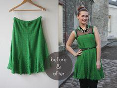 green-knit-dress-refashion-bampa1