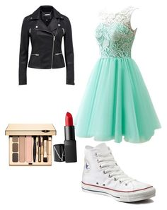 """Perfect prom two"" by gabs129-1 ❤ liked on Polyvore featuring Converse and NARS Cosmetics"