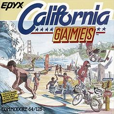 California Games on the C64. Now THIS was a great game! Alternative to Epyx normal 'Olympics' based games.