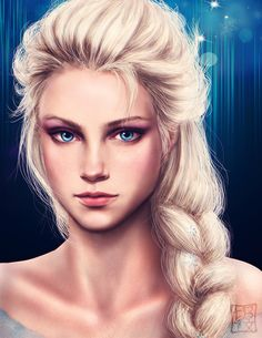 Elsa by Trixia Quinzon <-- Cool, what Elsa would look like in real life. They did a good job.