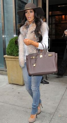 Kim Kardashian Fashion and Style - Kim Kardashian Dress, Clothes, Hairstyle - Page 90