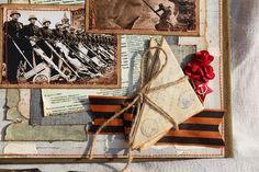 Бумажные шалости: Альбом о войне и Победе 1 Clipart, Birthday Cards For Men, Mixed Media Art, Diy And Crafts, Gift Wrapping, Scrapbook, Holiday Decor, Blog, Inspiration