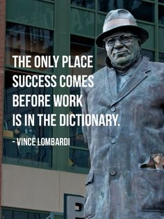 Learn some smart tips from Vince Lombardi quotes and start using his experience to improve your life.Vince Lombardi never gave up. Football Motivation, Football Quotes, Basketball Quotes, Athlete Motivation, Motivation Quotes, Monday Motivation, Boy Quotes, Sport Quotes, Quotes For Coaches