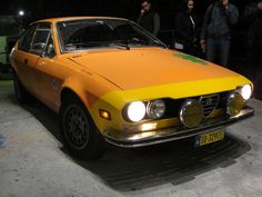 Alfetta GTV at night