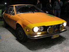 Alfetta GTV at night