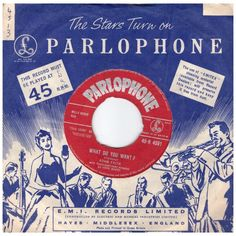 """7"""" 45RPM What Do You Want"""