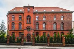 The building the rectory of the parish of St. Stanislaus, Dorothy and Wenceslas, Wroclaw, Poland
