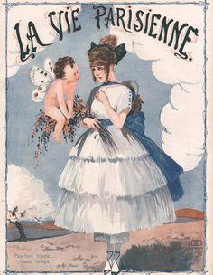 Georges Léonnec (1881 – 1940). La Vie Parisienne, 29 Mars 1919.