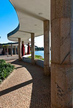 Casa do Baile - Obra que faz parte do Conjunto Arquitetônico da Pampulha de Oscar Niemeyer! -Belo Horizonte -Minas Gerais -Brasil