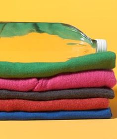 Fluff up wool sweaters by adding a few capfuls of vinegar to the rinse cycle.