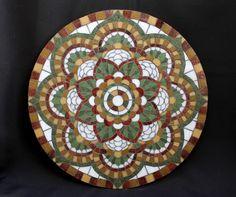 Compañía de Mosaicos: MANDALA (paso a paso)