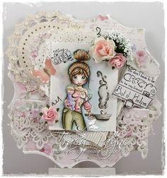 Crafteezee: Little Darlings Blog Hop