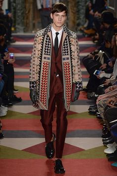 Valentino - Fall 2015 Menswear - Look 45 of 54 (Oh my!! This hit me right between the eyes!)