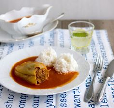 Czech Recipes, Ethnic Recipes, Rum, Curry, Good Food, Pudding, Treats, Dishes, Cooking