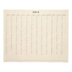 Postalco Wall Calendar (2015)