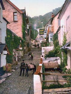 High Street Clovelly England 1890