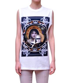 Givenchy Printed cotton top