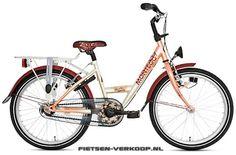 Meisjesfiets Montego Free Spirit Peach 16 Inch | bestel gemakkelijk online op Fietsen-verkoop.nl