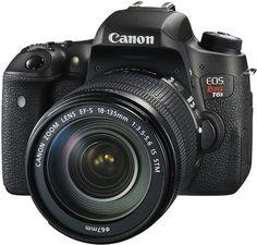 Lança a nova câmera DSLR da linha EOS Rebel: a Canon T6s. Para entusiastas da fotografia ou aqueles que desejam avançar na qualidade de suas imagens.