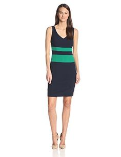 4a66499bfe8 Anne Klein Women s Color Blocked Dress