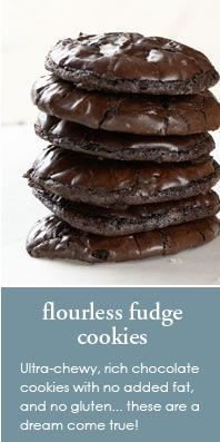 flourless fudge cookies...like the idea one reviewer gave of using it as a gluten free cheesecake crust