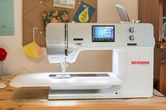 Bernina 770 QE review by The Cozy Pumpkin