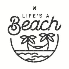 Shop Life's a beach beach t-shirts designed by Phanatique as well as other beach merchandise at TeePublic. Beach Drawing, Beach Illustration, Diy Tattoo, Pop Design, Mini Tattoos, Chalk Art, Beach Art, Cartoon Styles, Easy Drawings