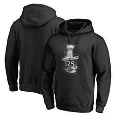 ec60b4d30a1 Fanatics Branded NHL 125th Stanley Cup Anniversary Pullover Hoodie - Black