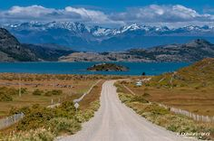 Lago General Carrera Patagonia, Chile, The Great Escape, Winding Road, Trail, Far Away, Pathways, Carrera, Trekking