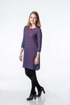 KAINO Knitted Rasberry Tunic & Rain Leggings Knit Leggings, Cotton Leggings, Aw17, Knitwear, Fall Winter, Cold Shoulder Dress, Rain, Tunic Tops, Collection