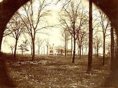 Northeast corner of Locust and Beaumont Streets. Historical Images, Historical Society, St Louis, Missouri, Hamilton, The Row, Corner, History, Street