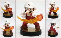 Fire Mario Custom Amiibo by LeiliaK on DeviantArt