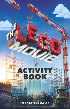 Lego Movie Activity Book. Everything is Awsome