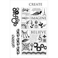 Crafter's Companion Stamp-It Australia EZMount Stamp Key Sentiments
