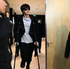 park hae jin/parkhaejin 박해진 got injured while filming at china