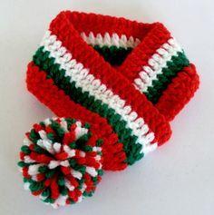 crochet christmas collar for dog - Google Search